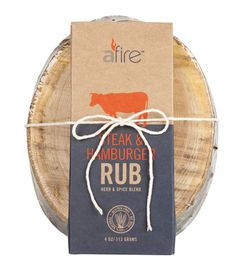 11 Father's Day gourmet gifts: Afire Grill Rubs