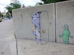 Kreide-Kunst durch David Zinn 7