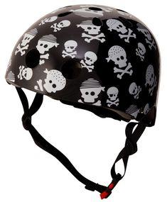 Kiddimoto helm Skullz - DE GELE FLAMINGO
