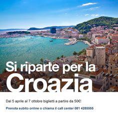 Finalmente il #5Aprile è arrivato, si riparte verso la #Croazia  ⠀ #SNAV augura a tutti #BuonViaggio! Info e prenotazioni sito Snav (link in bio) oppure chiama lo 0814285555⠀ ⠀ #visitsplit #croatiafulloflife #centraldalmatia #igersitalia #igersancona  #igersmarche  #igerscroatia #vacanze #ig_italia #travel #croazia #mare #croatia #hvar #croatiawithlove  #croatiafullofmagic #visitcroatia #dalmatia #visitdalmatia