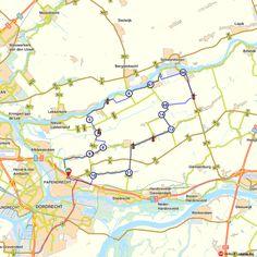 Fietsroute: Van Papendrecht naar Nieuwpoort (http://www.route.nl/fietsroutes/157282/Van-Papendrecht-naar-Nieuwpoort/)