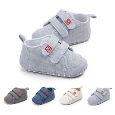Limited Price of Classic Canvas Baby Shoes Newborn First Walker Fashion Baby Boys Girls Shoes Cotton Casual Shoes for Boys Girls Sneakers Pr. Toddler Sneakers, Baby Sneakers, Girls Sneakers, Toddler Shoes, Infant Toddler, Baby Shoes For Sale, Baby Boy Shoes, Crib Shoes, Newborn Shoes Boy