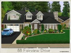 88 Fairview Drive house by mightyfaithgirl - Sims 3 Downloads CC Caboodle  Check more at http://customcontentcaboodle.com/88-fairview-drive-house-by-mightyfaithgirl/