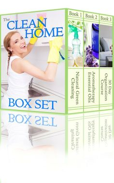 The Clean Home Boxset: Three Best Selling Cleaning and Organizing Books To Help You Keep Your Home Spotless  by BJ Knights ($2.99) - http://www.amazon.com/exec/obidos/ASIN/B00HUWRV0I/electronicfro-20/ASIN/B00HUWRV0I