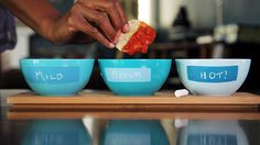 From the left: yosemite blue 2059-40, turquoise haze 2060-60, seaport blue 2060-30 | Flickr - Photo Sharing!