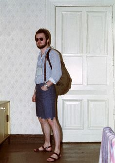 Once-Classified Photos of East Germany's Spies in Disguise or Terry Richardson photo shoot for Vice?  Although, there's not enough scantily clad women for this to be a Vice shoot.