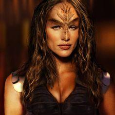 Klingon Warrior Princess by on DeviantArt Klingon Empire, Star Trek Klingon, Star Trek Starships, Star Trek Cosplay, Warrior Princess, Alien Female, Star Trek Cast, Star Trek Original Series, Star Trek Characters