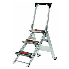 When you are looking for a ladder that is incredibly simple to use and has an  sc 1 st  Pinterest & Rubbermaid RM-3W Folding 3-Step Steel Frame Stool with Hand Grip ... islam-shia.org