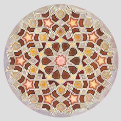 """Mi piace"": 344, commenti: 11 - SacredArtofGeometry (@sacredartofgeometry) su Instagram: ""Pattern Masters: Exploring the Nature of Tenfold Geometric Pattern with Daniel Docherty and…"""
