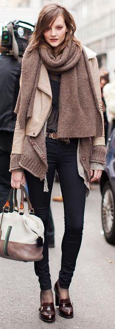 street wear_dress for winter_ZARA