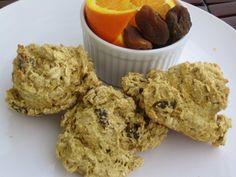 Orange Apricot 'Tea Buns' (oil-free)