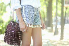 Tassel Shorts | BeSugarandSpice - Fashion Blog
