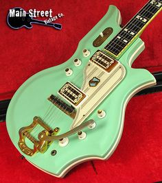 1964 NATIONAL Glenwood 99 Vintage Res-O-Glass Guitar
