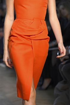 pencil skirt, clocked on almost everyone's catwalk this season too, from Oscar de la Renta and Roland Mouret