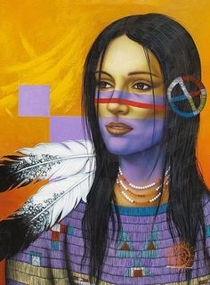 native  American art by victor gomez |