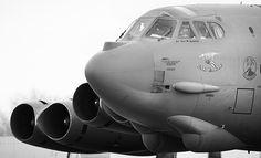 """B-52H Stratofortress - """"War Eagle""""."""