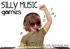 silly music games for kids !!!!!!! ummm great idea!!!!! muisc speaks radio!!!!! live audience in stage room!!!...hmmmmmm.......