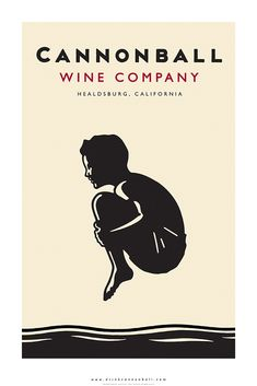 Cannonball Wine Company Poster - Graphis
