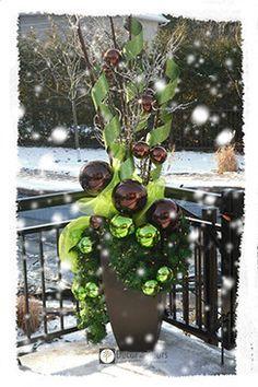 Decoration exterieur hiver recherche google noel for Decor de noel exterieur