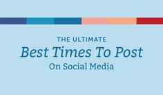 What 10 Studies Say About the Best Times to Post on Social Media