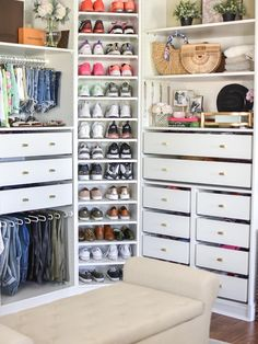 Ashley Nicole Interiors Pax wardrobe for ultimate master closet organization Wardrobe organization Closet organization Master Closet Design, Master Bedroom Closet, Ikea Closet Design, Ikea Bedroom Design, Master Bedrooms, Wardrobe Organisation, Closet Organization, Wardrobe Storage, Closet Storage