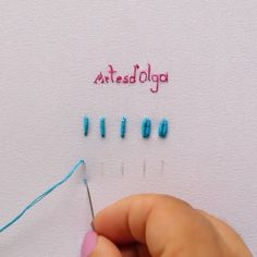 hand embroidery stitches tutorial step by step Hand Embroidery Patterns Free, Hand Embroidery Art, Hand Embroidery Videos, Embroidery Flowers Pattern, Learn Embroidery, Embroidery Kits, Ribbon Embroidery, Brazilian Embroidery Stitches, Embroidery Stitches Tutorial