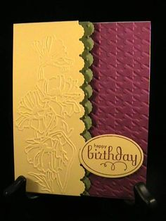 CC390 - No-Dessert Wish - Stamp Class 9/12 by susie nelson - Cards and Paper Crafts at Splitcoaststampers