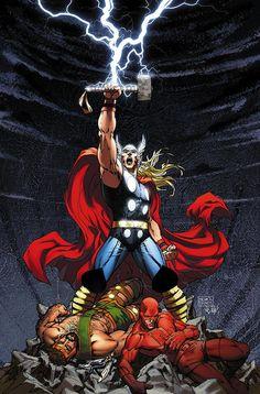 Thor & Black Adam vs Superman and Wonder Woman - Comic Vine