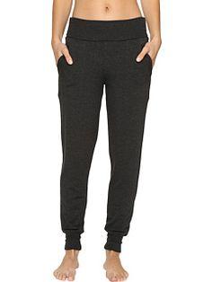 Beyond Yoga Fleece Fold-Over Sweatpants