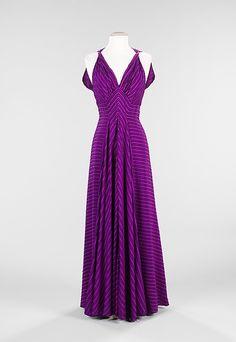"""Le Gaulois""  Elizabeth Hawes (American, 1903–1971)  Date: ca. 1938 Culture: American Medium: silk"