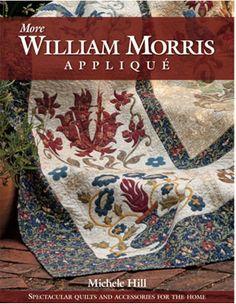 """More William Morris Appliqué"" by Michele Hill"