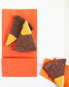 Chocolate Shortbread Recipe for Halloween