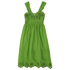 Mellow Green Embroidered Sundress http://www.omiru.com/wp-content/uploads/2008/11/mellow-green-embroidery-sundress_110408.jpg
