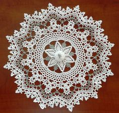 free crochet doily patterns | 46 Irish Mystique Doily