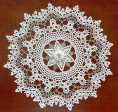 free crochet doily patterns | 46 Irish Mystique Doily More