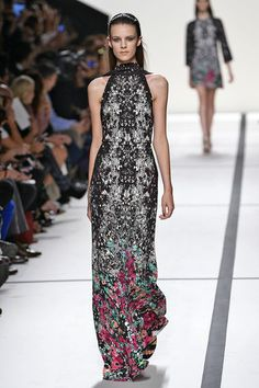 Elie Saab – Fashion Week Paris – Frühjahr Sommer 2014. #pfw #dress #saab #elle_de