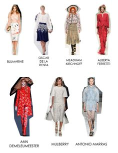SS 14 Trends - Fancy Embroidery.