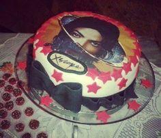 "Michael Jackson's new album ""Xscape"" - the ""Xscape Cake""."