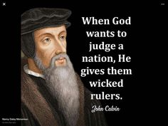 calvin quote for Reformation Day - Yahoo Image Search Results John Calvin Quotes, Reformation Day, Protestant Reformation, Great Quotes, Inspirational Quotes, Spurgeon Quotes, Soli Deo Gloria, Reformed Theology, Political Quotes