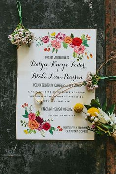 Wording of invites is spot-on!