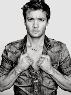 Jeremy Renner by Nathaniel Goldberg - GQ for my Maddie. But I must agree.