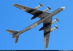 "Tupolev Tu-95MS - Russian Air Force 19 red (cn 1000214936177) Aircraft named ""Krasnoyarsk""."