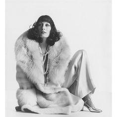 Anjelica Huston by Irving Penn for @VogueMagazine, 1972.