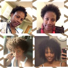My 18 month natural hair journey