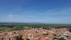 Chamusca, vista sobre a vila.