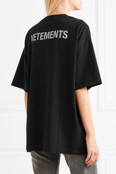 Vetements | T-shirt en jersey de coton imprimé | NET-A-PORTER.COM