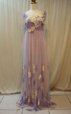 Custom Made Lovely Lavender Fairy Dress by Madabby on Etsy, $278.00