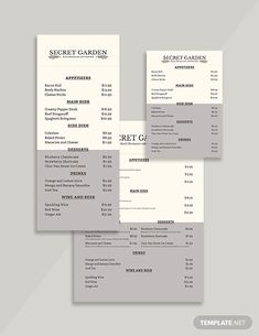 looking for a rustic menu template but unable to find a perfect one that suits your
