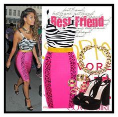 """Nicole Scherzinger"" by deedee-pekarik ❤ liked on Polyvore featuring moda, Prada, COVERGIRL, Miu Miu, Michael Kors, Apt. 9 y nicolescherzinger"