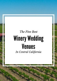 Fresno Wedding Winery Madera Sanger